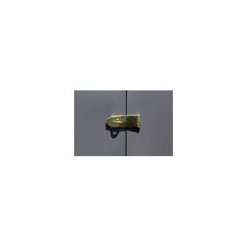 Spacemaker Metallgerätehaus 4x7 Anlehnhaus 203 x 208 x 124 cm