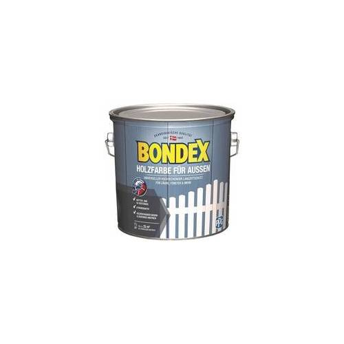 Bondex Holzfarbe für Aussen 2,5L anthrazit