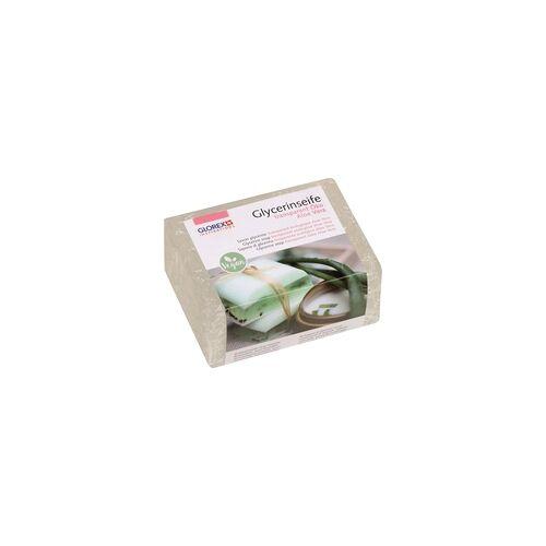 Glorex Glycerin-Seife Öko mit Aloe Vera transparent 500 Gramm