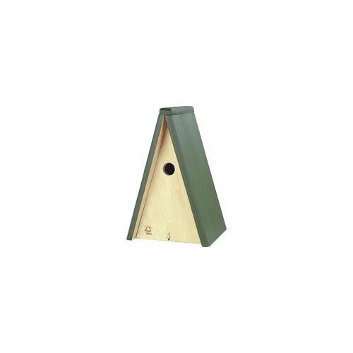 Nabu LBV Nistkasten Miami grün/Natur, Holz, 100% FSC