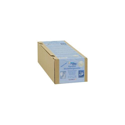 Glorex Gipsbinden Grosspackung 1kg, 5 Rollen à 5m x 10cm