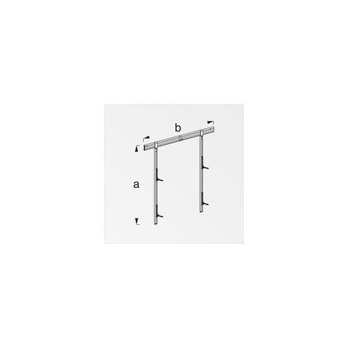 alfer Felgenhalter-Set, Aluminium für 4 Reifen