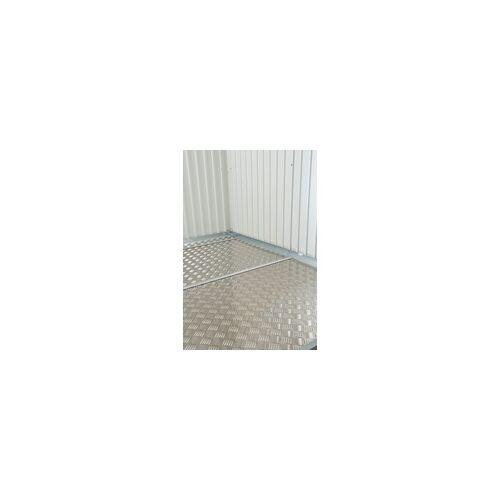 Biohort Alu-Bodenplatte für Gerätehaus Gr. 2