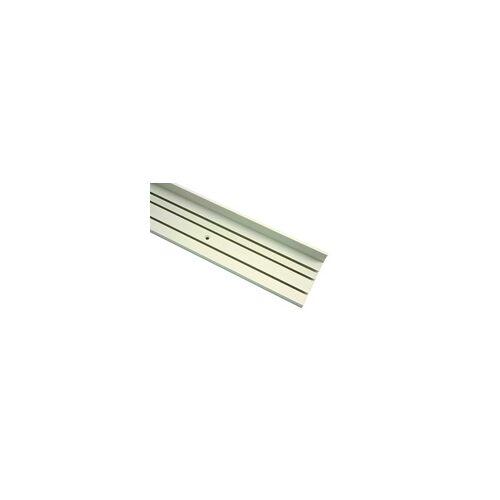Gardinia Vorhangschiene P2Ü mit Blende, weiss, 250 cm
