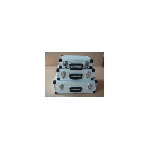 TrendLine Alurahmen-Werkzeugkoffer 3er-Set Alukoffer