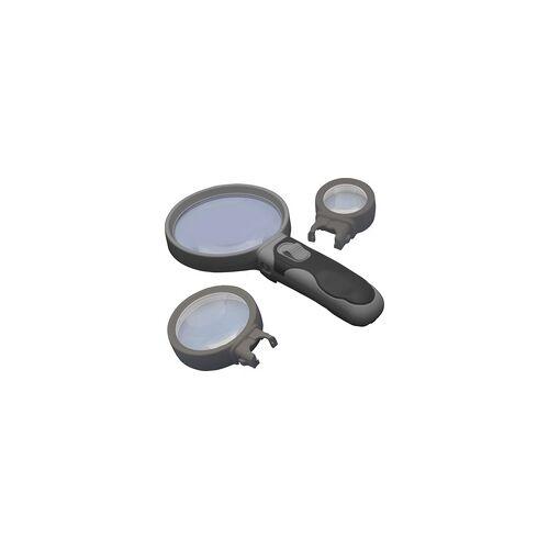 Digiphot Lupen-Set LS-2516 2,5 fache / 6 fache / 16 fache Vergrößerung