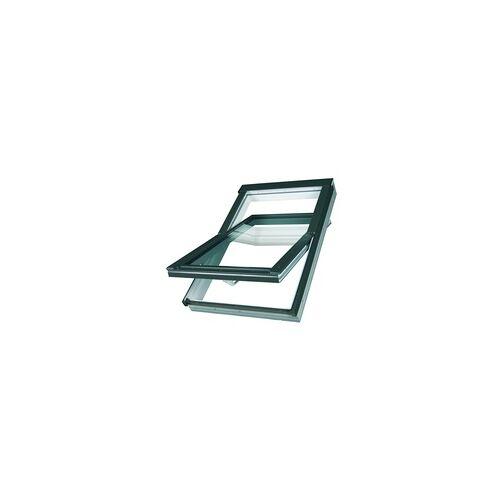 Fakro OptiLight Dachfenster TLP 06 78 x 118 cm, Kunststoff weiß, Blech grau 873706