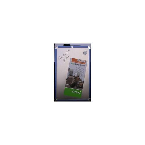 Vigo Magnettafel Metalloptik 28 x 43 cm