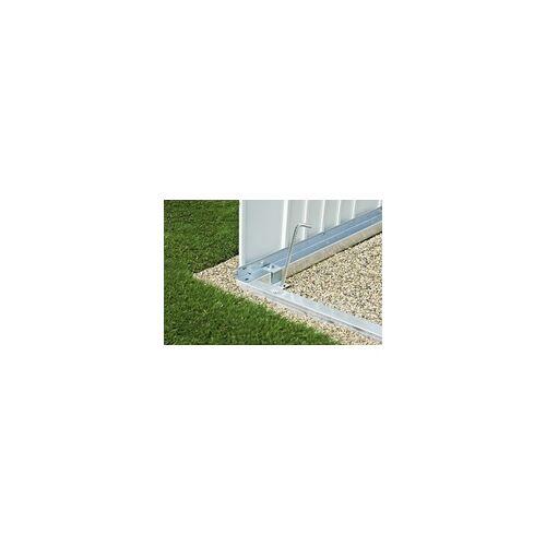 Biohort Alu-Bodenrahmen für Gerätehaus Europa Gr. 2a und Gerätehaus Größe 230