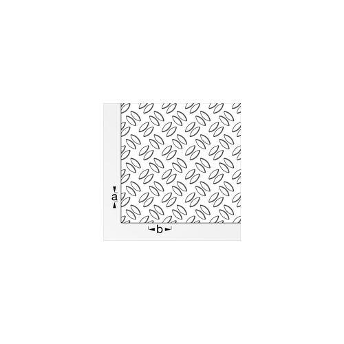 alfer Gerstenkornblech 500 x 250 mm