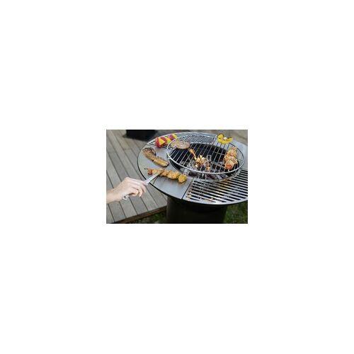 Westmann Grill, Plancha und Feuerplatte schwarz, 75x75x94 cm