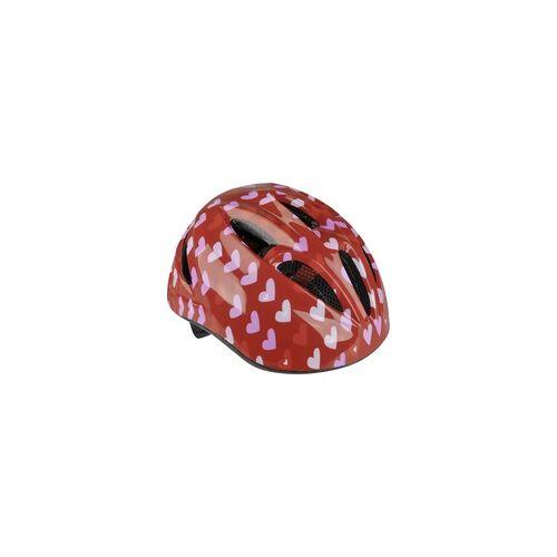 Fischer Fahrradhelm Herz Größe XS/S 48 - 54 cm