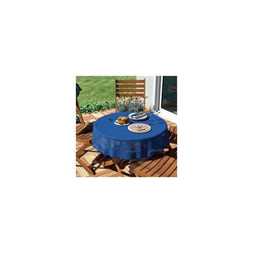 d-c-garden Gartentischdecke Florida 160 cm rund, blau