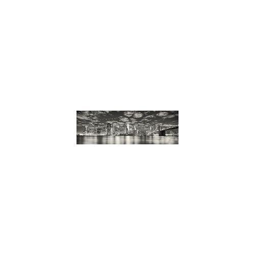 The Wall Deco-Panel Bild - New York Night 90 x 29 cm