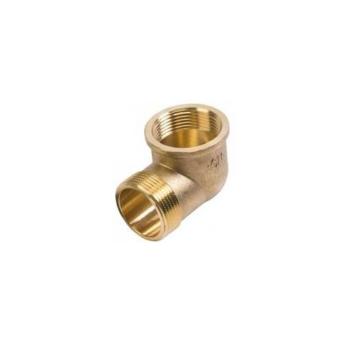 CORNAT Winkel 90 Messing 1 1/4 IG, 1 1/4 AG Messing blank, 1 1/4 IG, 1 1/4 AG