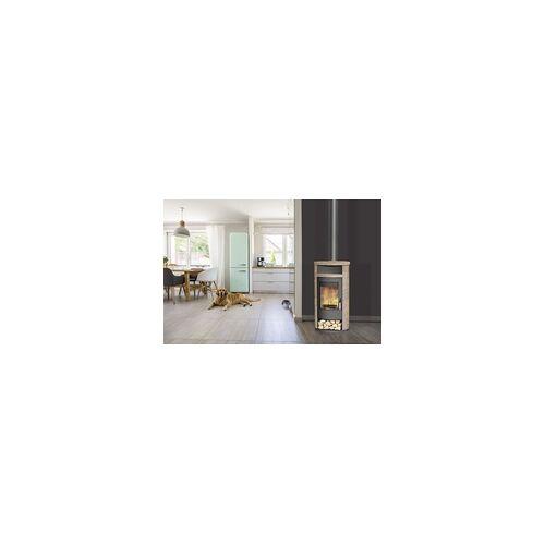 FIREPLACE KFT Fireplace Kaminofen Alicante Loticstone, schwarz, 8 KW