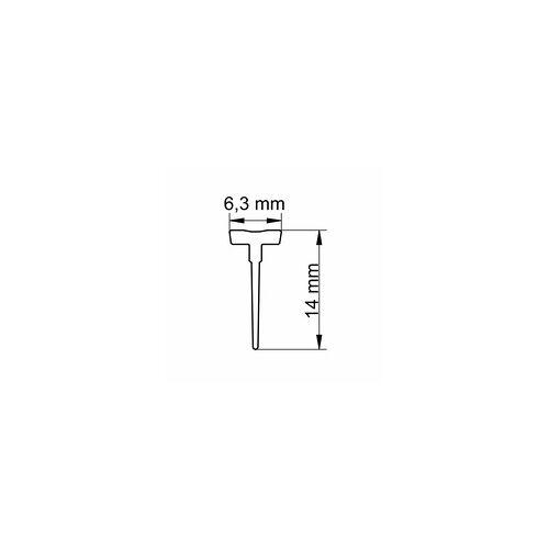 Schulte MasterClass/Garant Einschubdichtung 1000 mm, Transparent