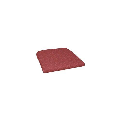 GO-DE Sitzkissen Luca/Malta 47 cm x 47 cm x 5 cm, rot