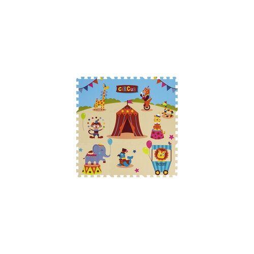 Andiamo Puzzle-Teppich Zirkus 9-teilig 1 Teil 30 x 30 x 1 cm