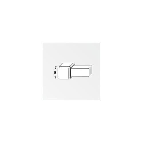 Alfer Quadrat-Fliesenecke 8,0 mm