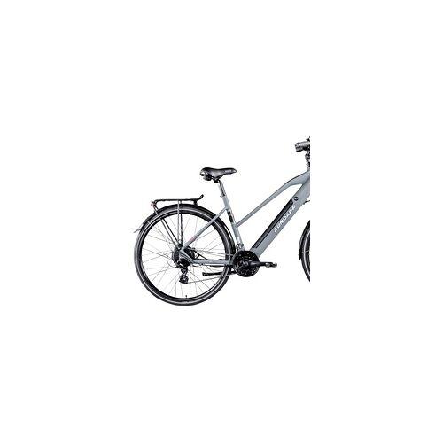 Zündapp Zündapp E-Bike Trekking 28 Zoll Z810 Damen, 24-Gang, grau