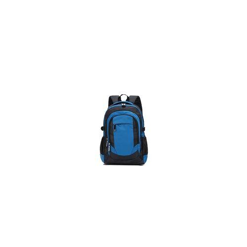 Primaster Rucksack schwarz-blau, 32 x 48,5 x 19 cm (B x H x T)
