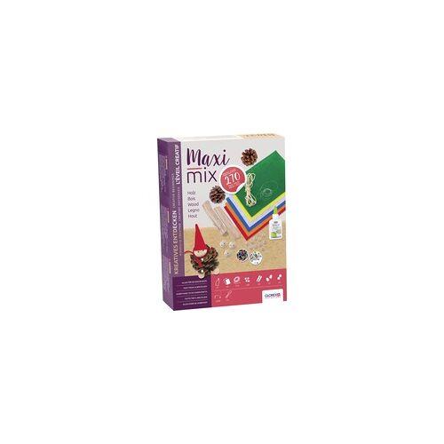 Glorex Bastelpackung Creativ Maxi Mix Naturholz