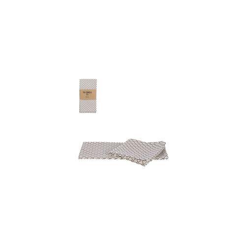 Mica Geschirrtuch Badhi taupe 70 x 50 cm