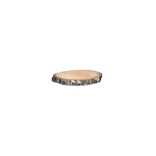 iWerk Birkenholzscheiben rund, 100% Natur 35-38 cm ø