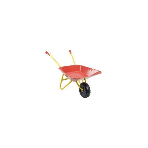 weitere Kinderschubkarre rot gelb Maße: 76 x 38 x 38 cm