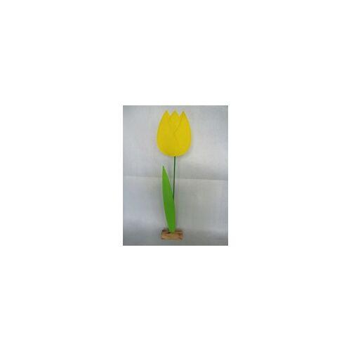 TrendLine Filz Deko-Blume 24 x 8 x 108 cm
