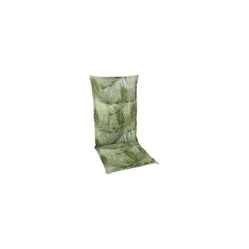 GO-DE Hochlehner-Auflage 50 cm x 120 cm x 6 cm, grün, palmy grün