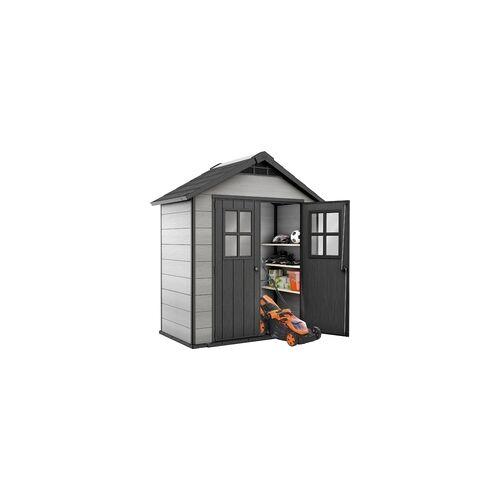 Keter Gerätehaus Oakland 754 210 x 124,8 x 253 cm