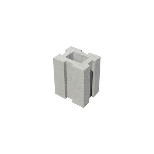 Diephaus Pfostenfundamentstein 34 x 26,5 x 21,5 cm, grau