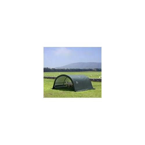 ShelterLogic Weidezelt Run-In-Shed 300 x 260 x 150 cm, grün