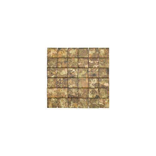 KNG Glasmosaik Maxi-Glas gold 29,8 x 29,8 x 0,8 cm, gold