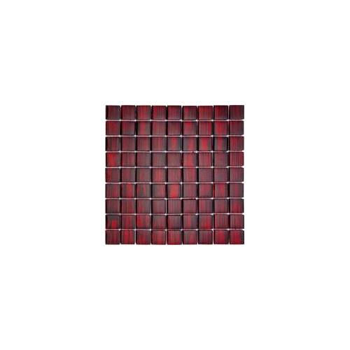 KNG Glasmosaik CHILL OUT rot 28,8 x 28,8 x 0,8 cm, rot