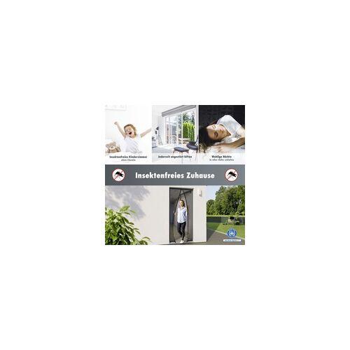 Primaster Insektenschutz-Magnetvorhang 95 x 215 cm, schwarz