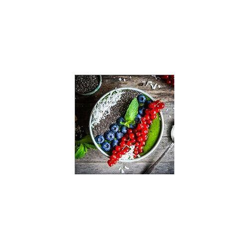 weitere Deco-Glas Bild - Teller mit Beeren 30 x 30 cm