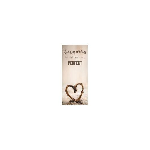 weitere Deco-Canvas Bild - Perfektes Herz 30 x 70 cm