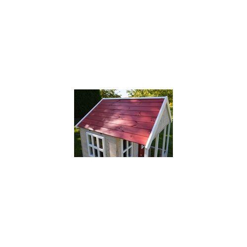 Wendi Toys Spielhaus Fuchs 120 x 120 x 155 cm, natur rot weiß
