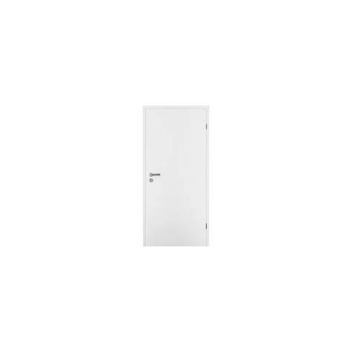 Borne Türblatt CPL weiß 61 cm x 198,5 cm DIN rechts, Röhrenspan