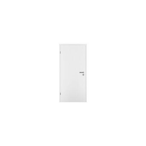 Borne Türblatt CPL weiß 61 cm x 198,5 cm DIN links, Röhrenspan