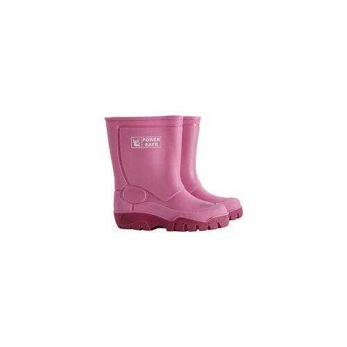 Power Safe Kinderstiefel Größe: 32/33, pink
