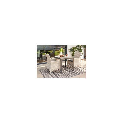 Primaster Dining-Loungesessel Nardo XL aus Kunststoffgeflecht