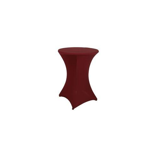 GO-DE Husse für Stehtisch 120 x 70/80 cm, rot
