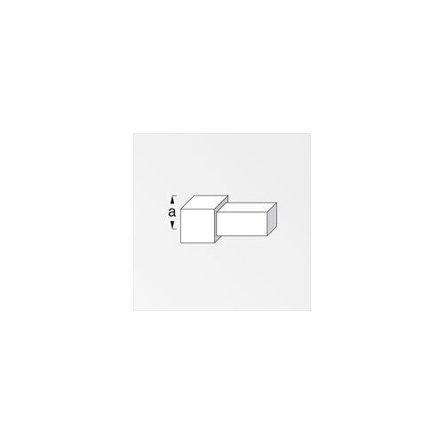alfer Quadrat-Fliesenecke 11,5 mm