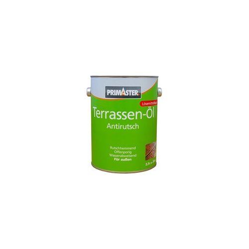 Primaster Terrassen-Öl, Anti Rutsch 2,5 l, teak