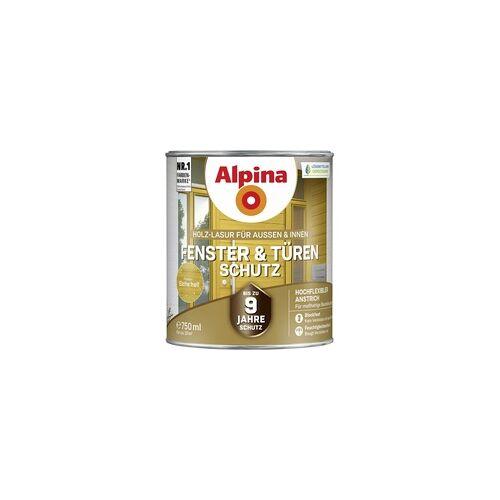 Alpina Fenster- und Türen-Schutz 0,75 l, eiche hell