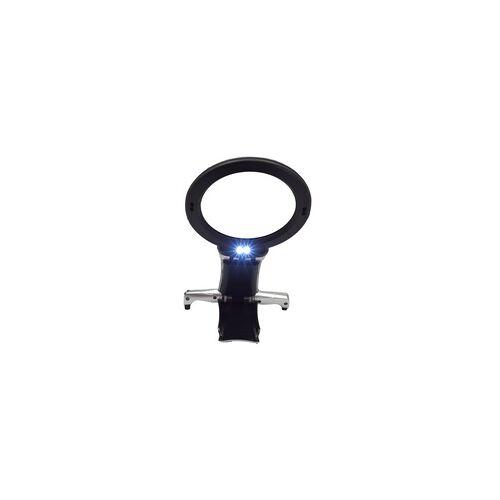 Digiphot Handarbeitslupe CM-22 2-fach Vergrößerung, 6-fach Spot, LED-Beleuchtung